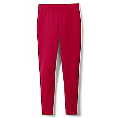d2445a563ba91 Lands' End - Red girls' iron knees ankle length leggings