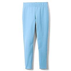 Lands' End - Blue girls' iron knees ankle length leggings