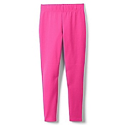 Lands' End - Pink girls' iron knees ankle length leggings