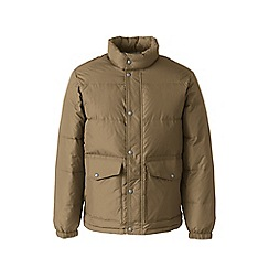 Lands' End - Beige down jacket