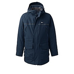 Lands' End - Blue squall insulated waterproof parka