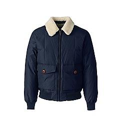 Lands' End - Blue down bomber jacket