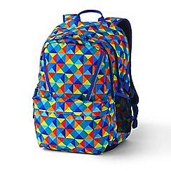 Lands' End - Multi Boys' Print Classmate Large Backpack