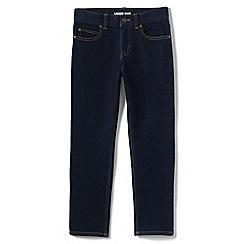 Lands' End - Blue boys' iron knees stretch slim fit jeans