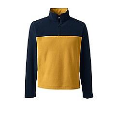 Lands' End - Yellow half-zip fleece top