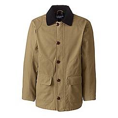 Lands' End - Beige field coat