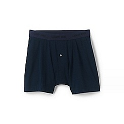 Lands' End - Blue Stretch Jersey Boxers