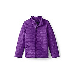 Lands' End - Purple toddler kids' packable thermoplume jacket