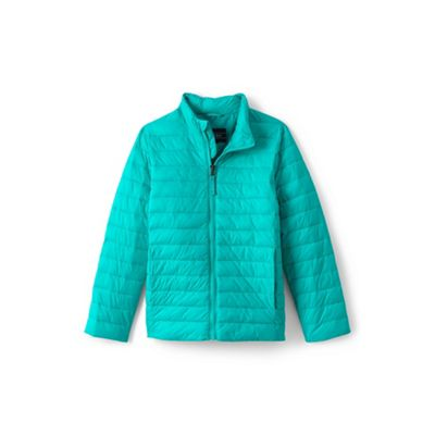 67cdfd239 Lands  End Blue toddler kids  packable thermoplume jacket