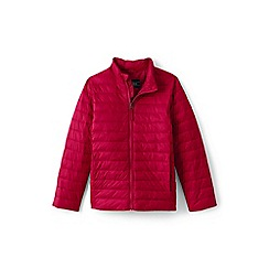 Lands' End - Red toddler kids' packable thermoplume jacket