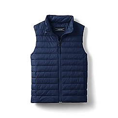 Lands' End - Blue kids' packable thermoplume gilet