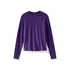 Lands' End - Purple girls' thermaskin thermal vest