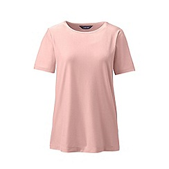 Lands' End - Beige plus velvet t-shirt
