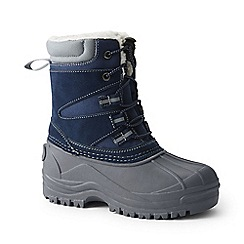 Lands' End - Blue expedition snow boots
