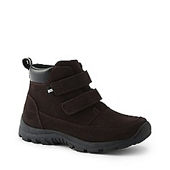 Lands' End - Brown everyday boots in suede