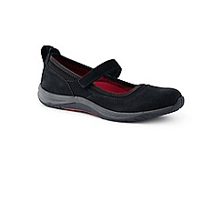 Lands' End - Black wide everyday comfort mary jane shoes