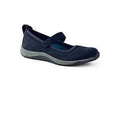 Lands' End - Blue wide everyday comfort mary jane shoes