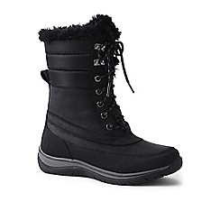 Lands' End - Black expedition snow boots