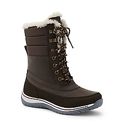 Lands' End - Brown expedition snow boots