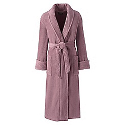 Lands' End - Pink petite classic terry robe