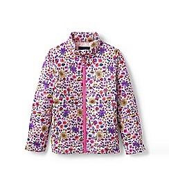 Lands' End - Pink Toddler Kids' Packable Patterned Thermoplume Jacket