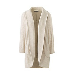 Lands' End - Beige plus cocoon cardigan