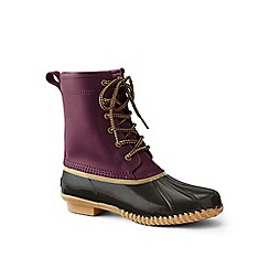Lands' End - Red duck boots