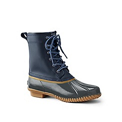Lands' End - Blue duck boots