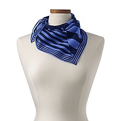 Lands' End - Blue printed neckerchief