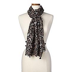 Lands' End - Multi floral scarf