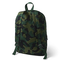 Lands' End - Green packable backpack