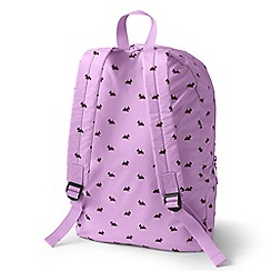 Lands' End - Purple packable backpack