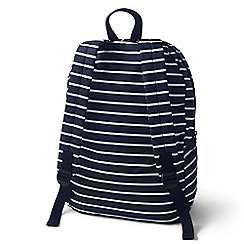 Lands' End - Blue packable backpack