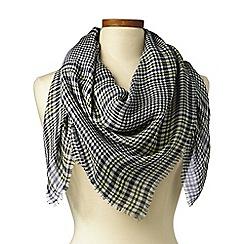 Lands' End - Multi square glen plaid scarf