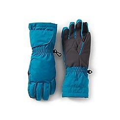 Lands' End - Blue kids' expedition winter gloves