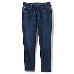 Lands' End - Blue girls' iron knees girlfriend jeans
