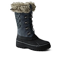 Lands' End - Grey squall snow boot