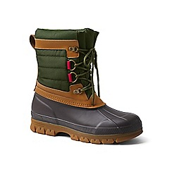 Lands' End - Green expedition snow pack boots