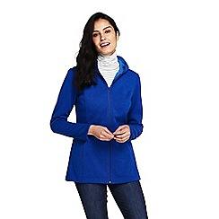 Lands' End - Blue plus water resistant fleece coat