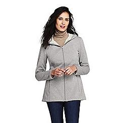 Lands' End - Grey plus water resistant fleece coat
