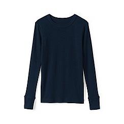 Lands' End - Blue kids' snug-fit pyjama top