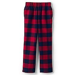 Lands' End - Red kids' flannel pyjama bottoms