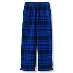 Lands' End - Blue kids' flannel pyjama bottoms