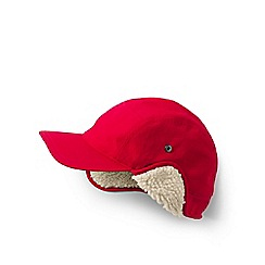 bdf1a6839a8 Lands  End - Red squall sherpa-lined winter cap