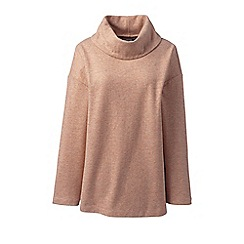 Lands' End - Brown plus wool blend tunic