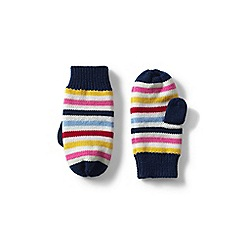 Lands  End - Multi kids  knitted mittens 13a7b21cc56a