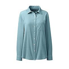 Lands' End - Blue pinwale cord shirt