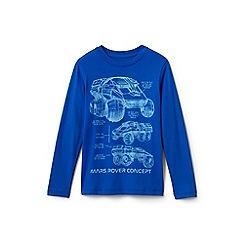 Lands' End - Blue boys' graphic t-shirt