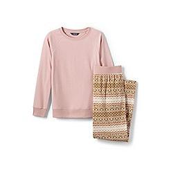 Lands' End - Multi fleece pyjama set