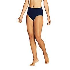 Lands' End - Blue Sunrise High Waist Bikini Bottoms